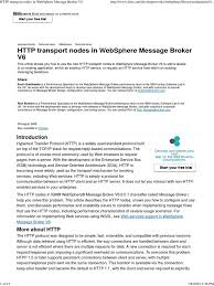 transportation resume examples websphere message broker sample resume capacity manager sample resume websphere message broker sample resume examples of agenda templates http transport nodes in websphere message broker