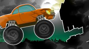 toddler monster truck videos monster truck stunts cartoon video for kids and toddlers youtube