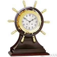 Nautical Desk Clock Brass Clocks Nautical Brass Clocks Brass Desk Clocks Brass