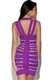 embellished dress crystals embellished purple dress charming wear