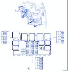 holden vy wagon 2007 main fuse box block circuit breaker diagram