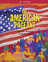 the american pageant 16th ap edition conrad kottak 9781305075917