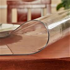 clear vinyl table protector top 10 best round glass table cover protector best of 2018 reviews