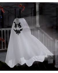flying spirit on string halloween animatronic horror shop com