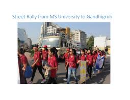M S University by Youth Reports World Mental Health Day U2013 M S University Baroda