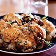 cuisiner des coquelets coquelets aux marrons et pommes recettes de cuisine française