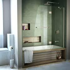 Bathroom Shower Doors Home Depot Semi Framed Shower Door Frameless Brushed Nickel Hinges Sterling