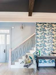 Paint Colors For Hallways And Stairs by Front Door Paint Color 1 2 Stardew By Sherwin Williams With 1 2