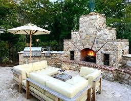 Outdoor Kitchen Pizza Oven Design Gorgeous Outdoor Kitchen With Pizza Oven Outdoor Fireplace With