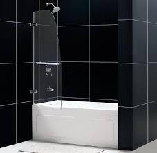 dreamline aqua uno 34x 58 inch single panel hinged bathtub door