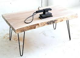 Hairpin Legs Coffee Table Diy Hairpin Leg Coffee Table Hairpin Leg Coffee Table With