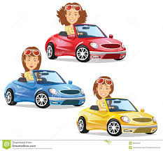 cartoon convertible car cartoon convertible car stock photos royalty free images