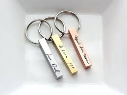 personalized gifts for him keychain personalized gift gifts for leather custom