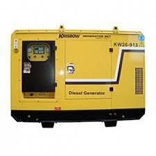 jual jual krisbow hd40kva generator diesel silent cummins