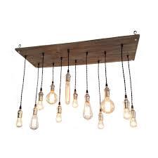 Wohnzimmer Lampen Rustikal Schöner Noch In Weiß Diy Lampe Aus Vielen Glühbirnen Meine