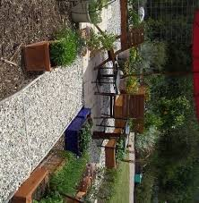 backyard patio ideas with gravel picture landscaping gardening
