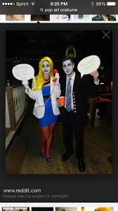 Pop Art Halloween Costume Ideas 10 Disfraz Pop Art Images Halloween Makeup