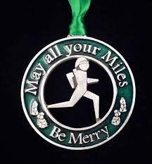 christmas ornaments for runners u0026 cyclists mytriathlonjewelry com