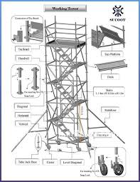 sucoot ring system scaffolding rental sale working tower taiwan