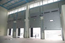 Automatic Overhead Door China Industrial Sectional High Speed Ce Approved Automatic