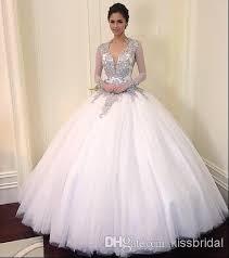 exclusive wedding dresses 2014 exclusive beaded wedding dresses v neck sheer