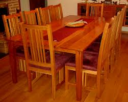 furniture wonderful original brandt dark cherry wood dining