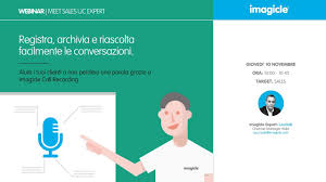 imagicle call recording ita webinar sales youtube