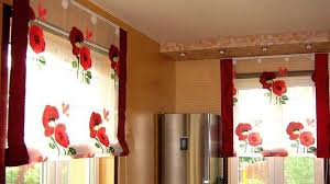 Bright Interior Decorating With Red Poppy Floral Designs - Poppy wallpaper home interior