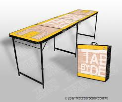 fold up beer pong table tables by design
