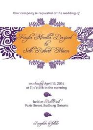 south asian wedding invitations this splendid multicultural and south asian wedding invitation