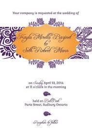 south asian wedding invitations this splendid multicultural and south asian wedding invitation