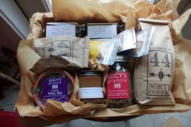 maine gift baskets corporate gifts lucys granola