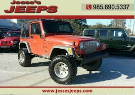 2005 jeep wrangler 2dr x 4wd suv in slidell la jesse u0027s jeeps