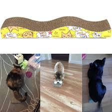 Cat Scratch Lounge Wave Shape Cat Scratching Bed U2013 Pet Clever