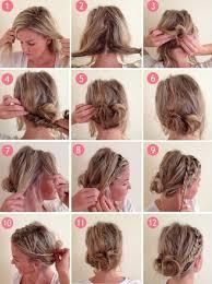 Hochsteckfrisurenen Leicht Gemacht Anleitung by Einfache Anleitungen Für Zopf Frisuren Auch Für Kurze Haare