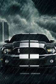 Black Mustang Wallpaper Iphone Ios 7 Wallpaper For Ipad Wallpaper