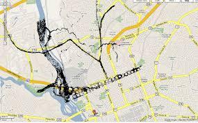 Lexington Sc Map Locating The Broad River Ferries