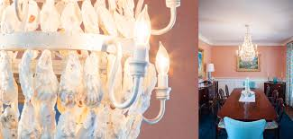 Oyster Chandelier Oyster Shell Chandelier R Mended Metals Llc