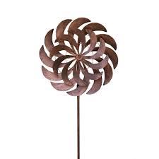 wind art hollis wood products windjammer 24 in x 84 in steel kinetic