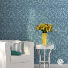sumptuous design ideas bedroom wall stencils 14 classic vintage