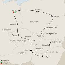Eastern Europe Map Eastern Europe Tours To Germany Poland U0026 More Globus