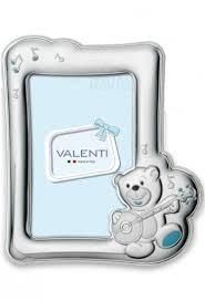 cornice battesimo bimbo cornice argento regalo porta foto presente valenti 71605 4c