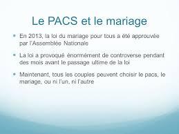 loi du mariage pour tous quelques faits concernant la famille et la vie en en