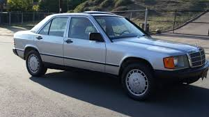 1985 mercedes benz 190e w201 2 3 4 cyl about 80k miles w123 youtube