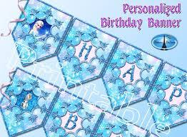 25 frozen birthday banner ideas frozen party