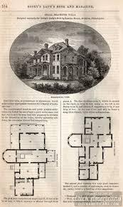 classic home design small bracketed villa 1862 click americana