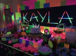 glow in the party ideas for teenagers house party ideas