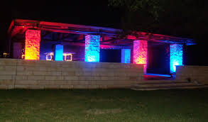 Outdoor Up Lighting For Trees I Es Lighting For Wedding Receptions In Austin Tx Round Rock And