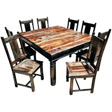 rustic square dining table square rustic dining table promotop info