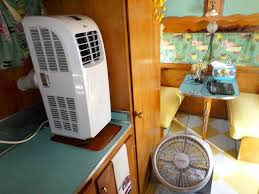 How To Install Portable Air Conditioner In Awning Window Travel Trailer Air Conditioners Http Www